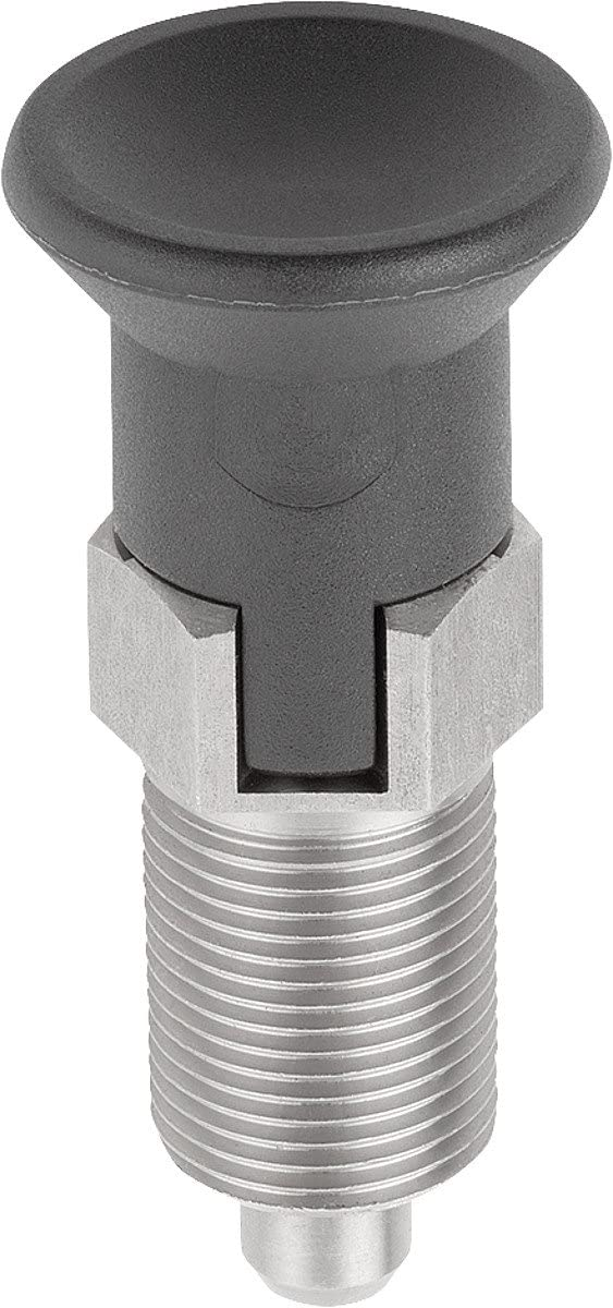 Tip Locating Pins Size 9/m06x0,75//C Thermal Plastic Small Stainless Steel Diameter 3/ /1/Pack k0338.13903