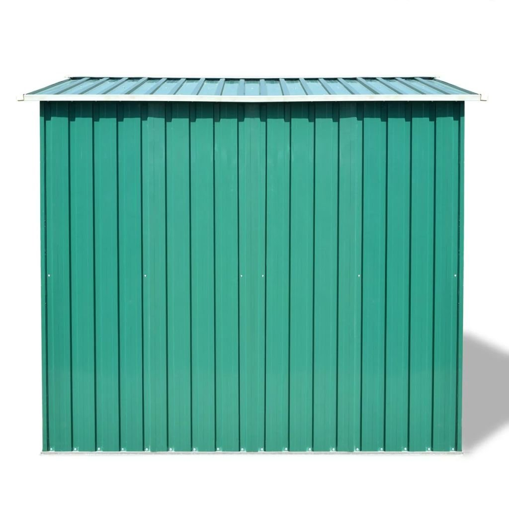 Amazon.com: SKB family Garden Storage Shed Green Metal 101.2