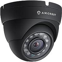Amcrest ProHD Outdoor 1080P POE Dome IP Security Camera - IP67 Weatherproof, 1080P (1920 TVL), IP2M-844E (Black) (Certified Refurbished)