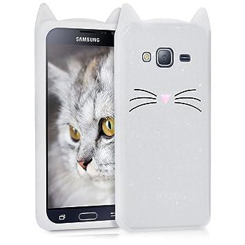 56259844ddc kwmobile Funda compatible con Samsung Galaxy J3 (2016) DUOS: Amazon.es:  Electrónica