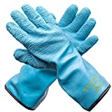 oven and grill gloves - Grill Armor Revolutionary Oven Gloves – The Only Heat Resistant Gloves That Are Both EN407 Certified Up To 932°F & 100% Waterproof – BBQ Gloves For Cooking, Grilling, Baking