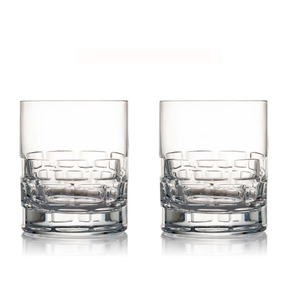 Rogaska Maison Double Old Fashioned Glasses, Set of 2
