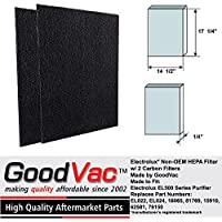 Electrolux Non-OEM EL500 Series Carbon Pre-Filter 2 Pack for Air Purifiers by GoodVac