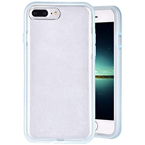 Funda iPhone 8 Plus, iPhone 7 Plus Carcasa de Silicona ...