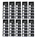 50 pcs Pack - CR2032 Lithium Battery 230mAh 3v Button Cell Coin 2032 Battery Nightkonic High Energy