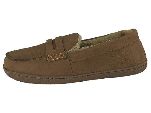 Response - Zapatillas de estar por casa de ante para hombre: Amazon.es: Zapatos y complementos