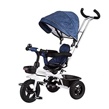 Jian E E-Carro Bicicleta de Triciclo para niños 1-3 años Cochecito de
