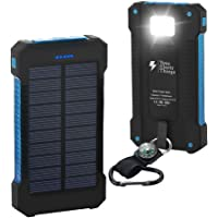 Your Electr Things Solar Power Bank Charger 20000mah, Portable Charger Power Bank with Dual USB and High LED Light…