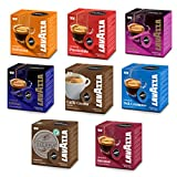 Lavazza A Modo Mio Coffee Capsules, Starter-Set with 8 Different Varieties