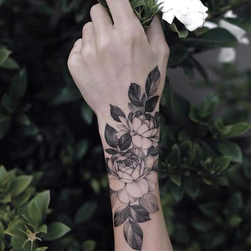 Etiqueta de transferencia de tatuaje temporal: pegatinas de ...
