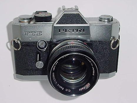 PETRI FTE Reflex analógica de 35mm con Lente Petri EE Auto 55mm f1 ...