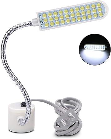 Luz LED para máquina de coser, 30 LED, multiusos, portátil, luz de ...
