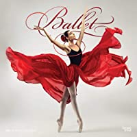 Ballet 2021 12 x 12 Inch Monthly Square Wall Calendar with Foil Stamped Cover, Performance Dance