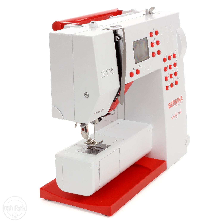 Bernina 215 Máquina de coser edición especial Simply Red: Amazon.es: Hogar