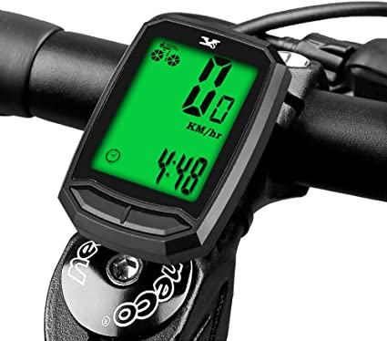 Cuentakilómetros Impermeable Velocímetro Inalámbrico para BicicletaOdómetro