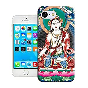 Diy iPhone 6 plus Customize Protective Case Tibetan be Book-04 orange Back Cover Case for iPhone 6 plus and Dyspepsia