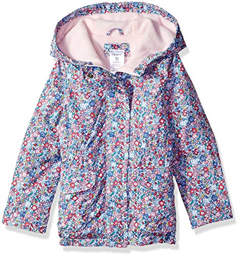 Carter's Little Girls' Fleece Lined Anorak Jacket, Disty Floral, ()