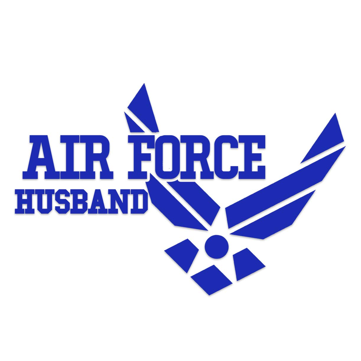 Car Decal Air Force Husband Vinyl Sticker Decal Laptop Decal