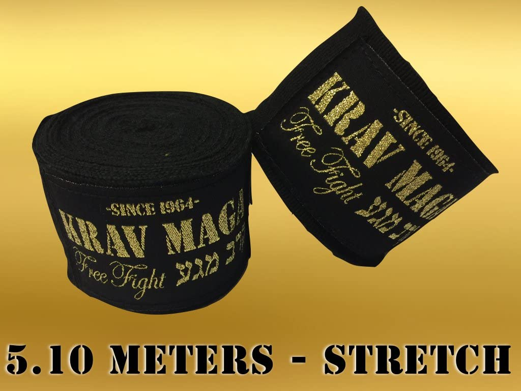 Krav Maga Hand Wraps 5.10メートルとストレッチ