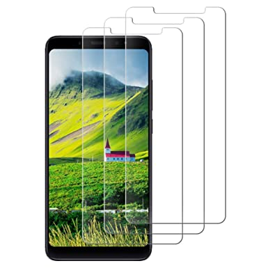 DOSNTO Xiaomi Mi A2 Lite Tempered Glass Screen Protector Full Coverage  Without White Edge 9H Hardness High-definition Case Friendly Screen  Protection