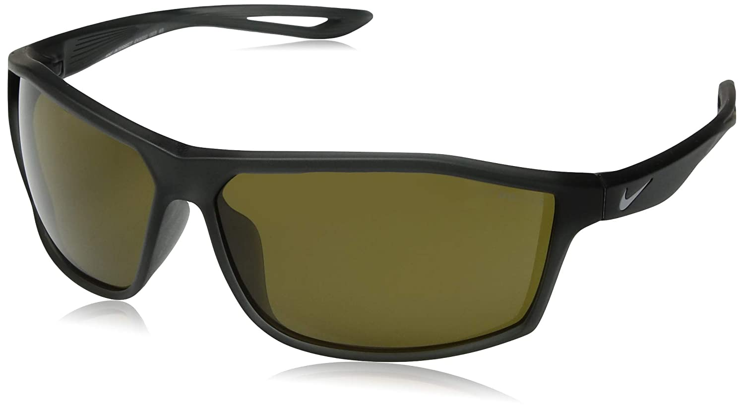 77da42e0db Amazon.com  Nike Mens Intersect Matte Grey with Grey Silver Flash Lens  Sunglasses  Sports   Outdoors