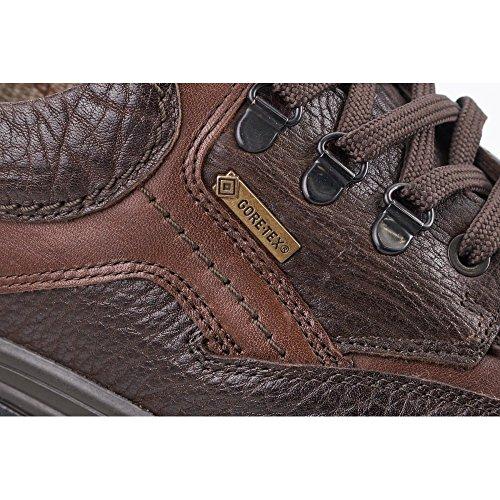 Barracuda Brown Men's Lace Up Shoes Dark Brown