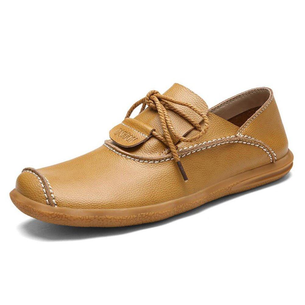 CAI Beiläufige Lederne Schuhe der Männer 2018 Herbst/Winter Bequeme Geschäfts-handgemachte Schuhe  Herren niedrige Schuhe Travel/im Freien gehende Schuhe/fahrende Schuhe