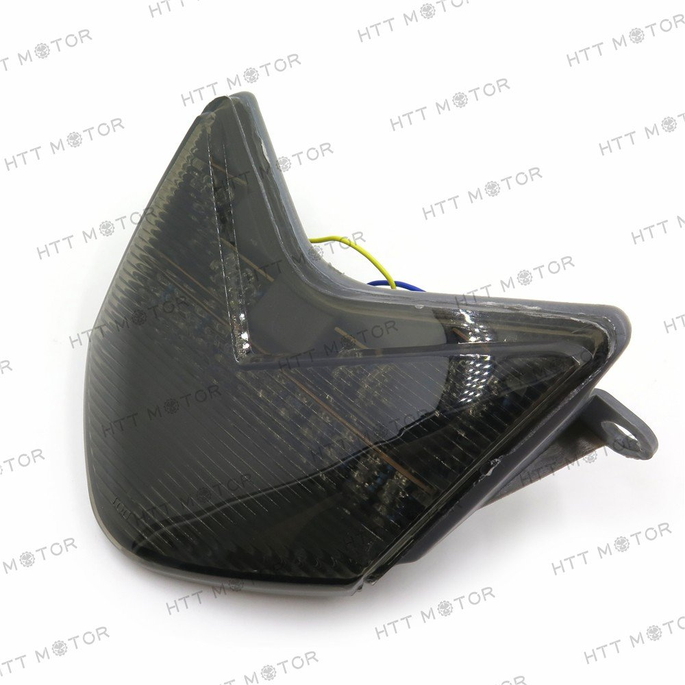 HTT Group Motorcycle SMOKE Tail Light For 2005 2006 Kawasaki Ninja ZX-6R/ZX636/ZX-6RR/ZX600/Z750S- 2006-2007 ZX-10R/ZX1000 TTMT
