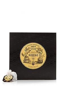 Mariage Freres, French Breakfast Black Tea, 30 Tea bags 75g (1 Pack)