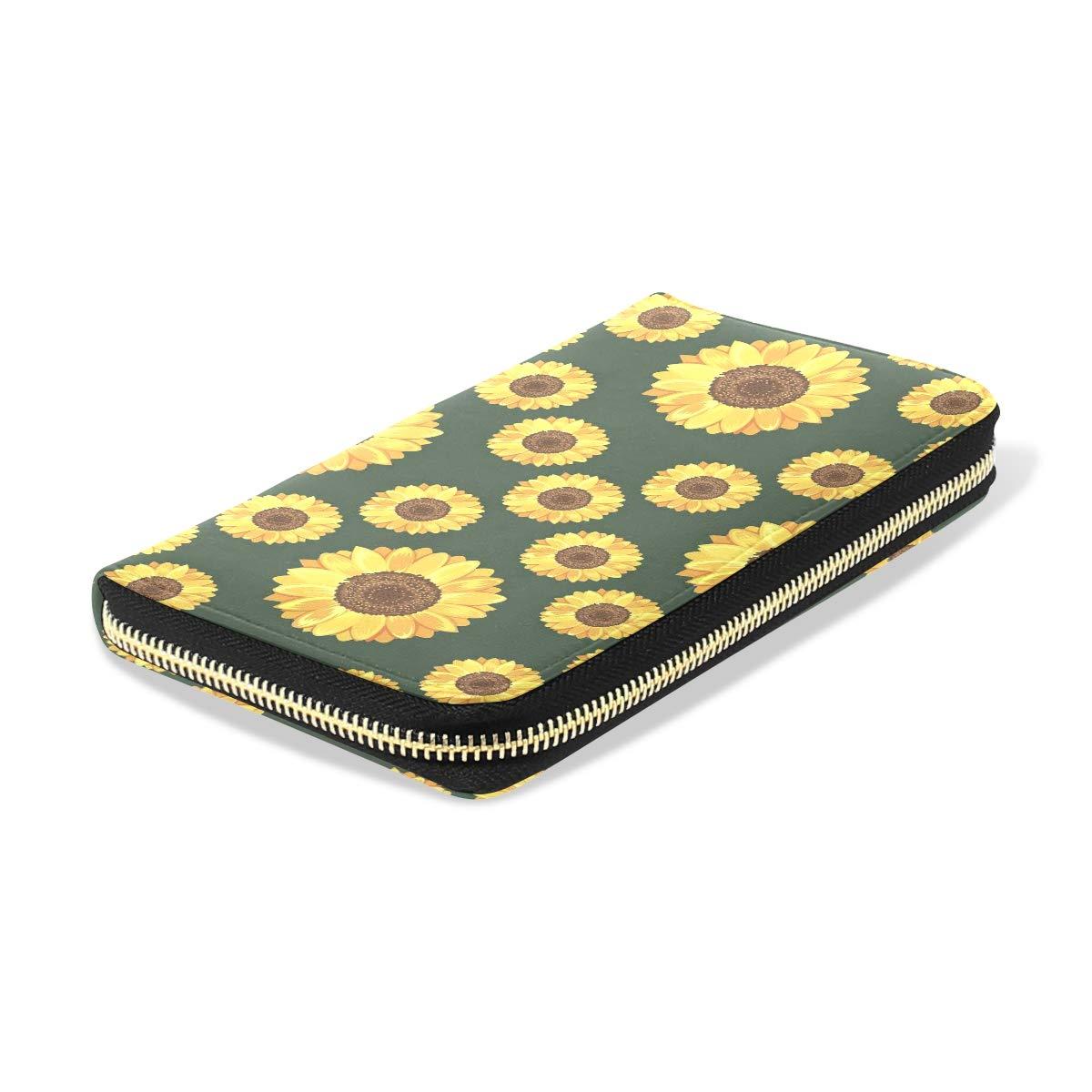 Womens Wallets Best Fall Leaves In Utah Leather Passport Wallet Change Purse Zip Handbags
