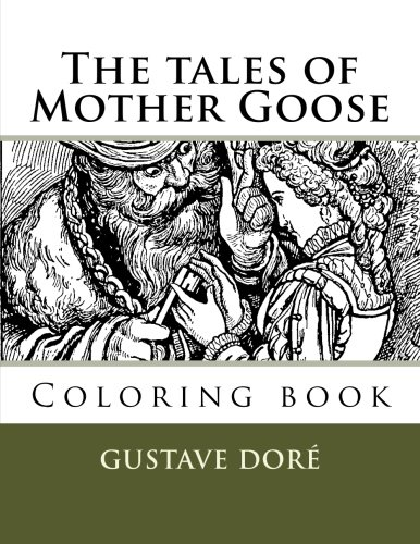 (The tales of Mother Goose: Coloring book)
