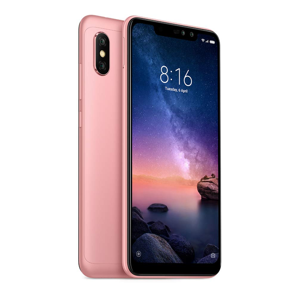 Xiaomi NOTE6PRO32RGO Redmi Note 6 Pro Dual SIM 32GB 3GB RAM (Asian Versión), Rose Gold