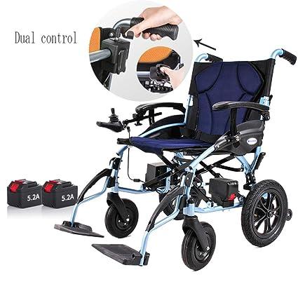 Silla de ruedas eléctrica, plegable, liviana, scooter para ...