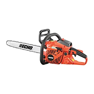 "Echo CS-400 18"" Gas Chainsaw; best professional chainsaw"