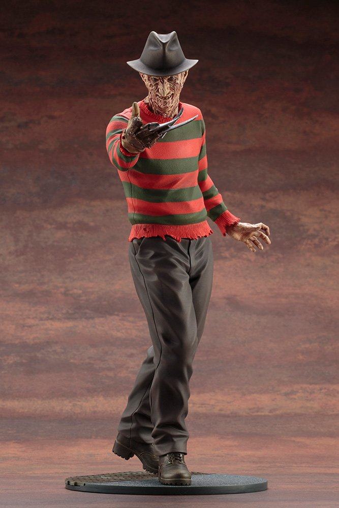 Version 1//6 Scale Painted Figure ARTFX Freddie Kruger Nightmare on Elm Street 4 The Dream Master Last Counterattack