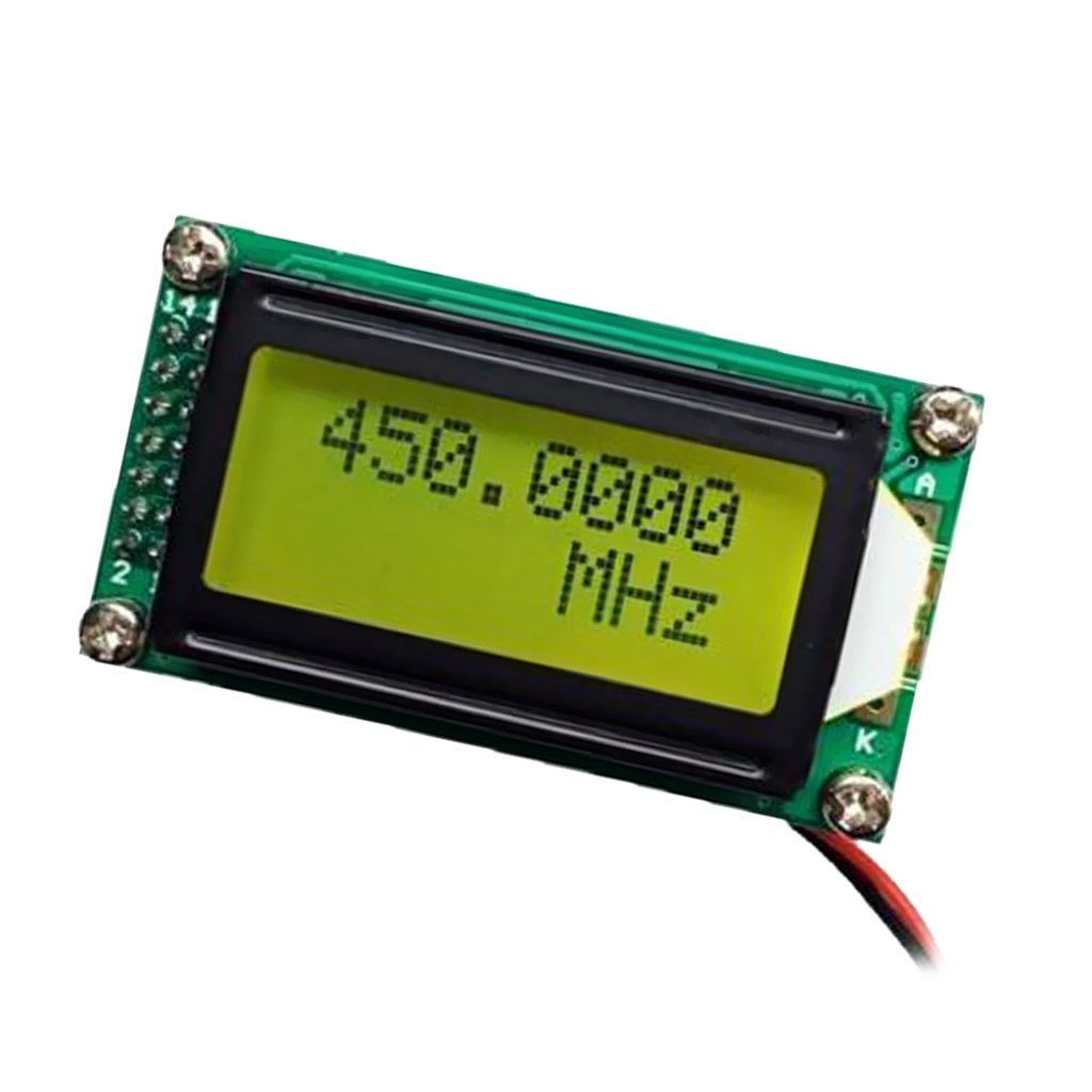 MagiDeal 1MHz-1200MHz Frequency Counter Tester Measurement For Ham Radio PLJ-0802-C