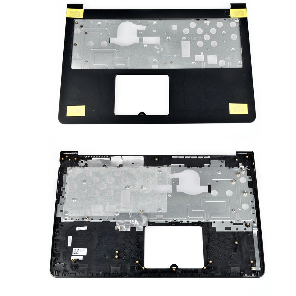 Eathtek Replacement Upper Case Palmrest without Touchpad and Bottom Case Base Cover for Dell Inspiron 15-5547 5545 5548 AP13G000100 0K1M13 series