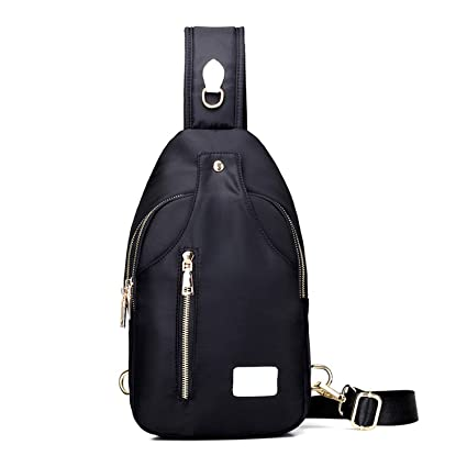 ecc532955453 Amazon.com: Shoulder Bags Oxford Cloth Crossbody Bag Unisex Chest ...