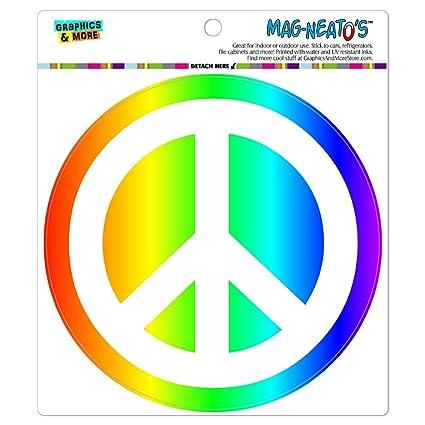 Graphics and More Imán de Vinilo con símbolo de Signo de la Paz ...