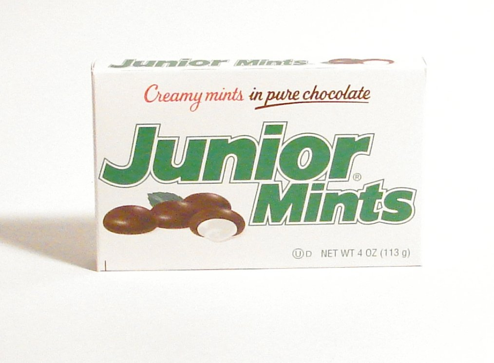 JUNIOR MINTS 4OZ by TOOTSIE ROLL MfrPartNo 53044