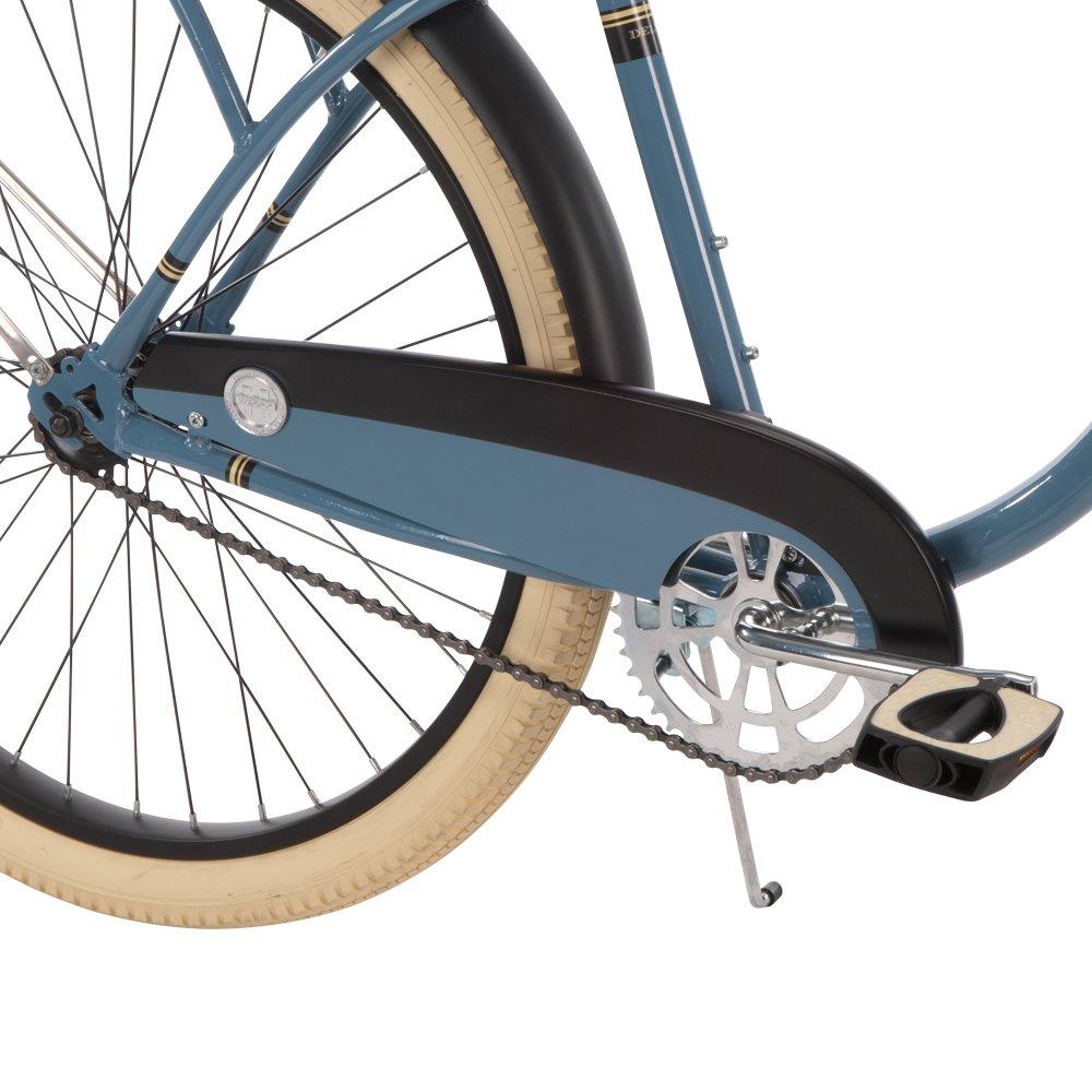 Huffy 26-inch Deluxe Men's' Cruiser Bike, Blue by Huffy (Image #4)