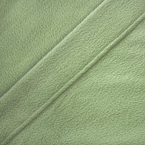 Cozy Fleece Microfleece Sheet Set Queen Sage