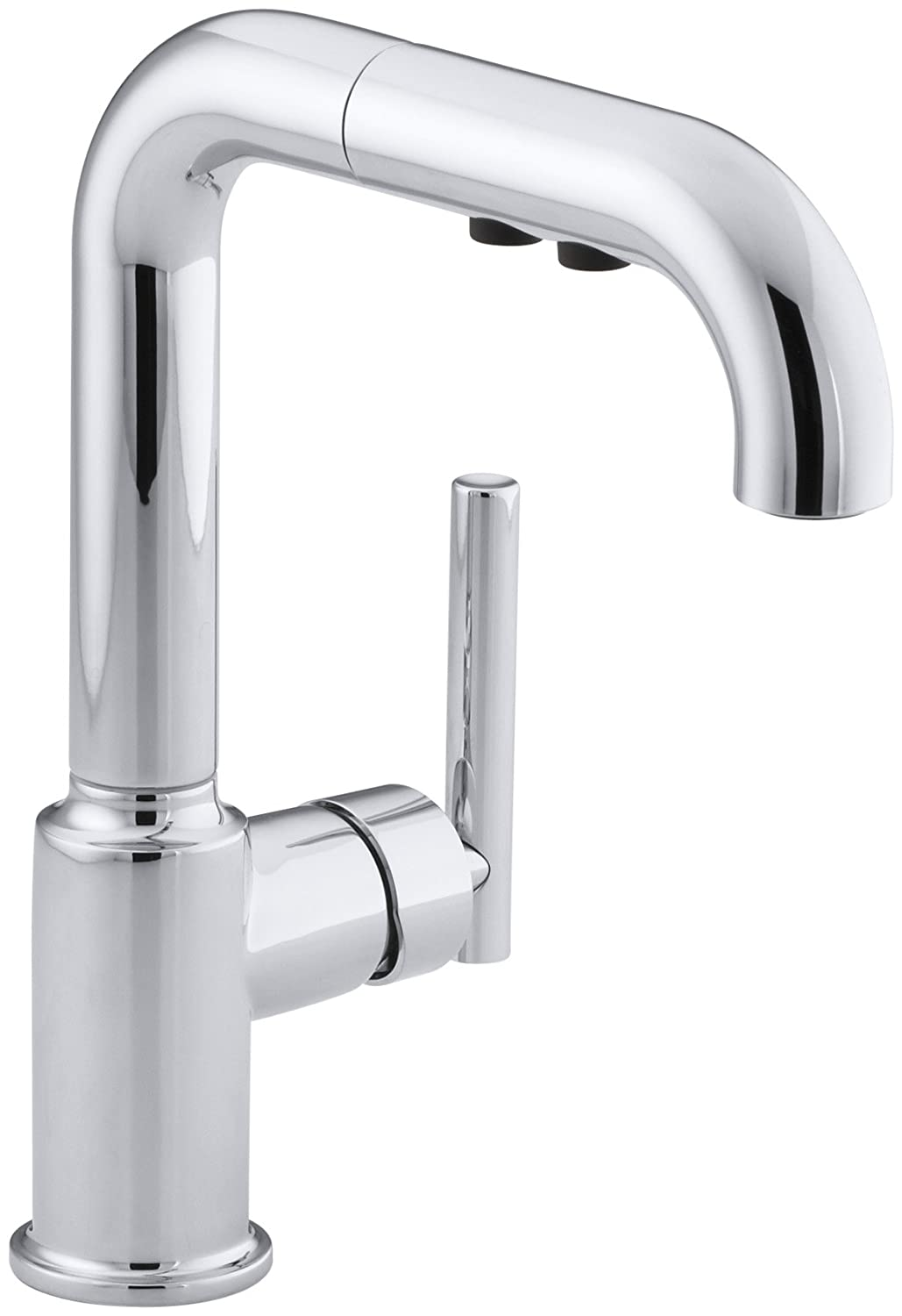 KOHLER K-7506-CP Purist Secondary Pullout, Polished Chrome