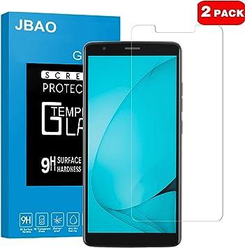 JBAO Blackview A20 Protector de Pantalla, Templado Protector de ...