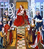 Fernando Gallego Madonna of the Catholic Kings - 24'' x 30'' 100% Hand Painted Oil Painting Reproduction