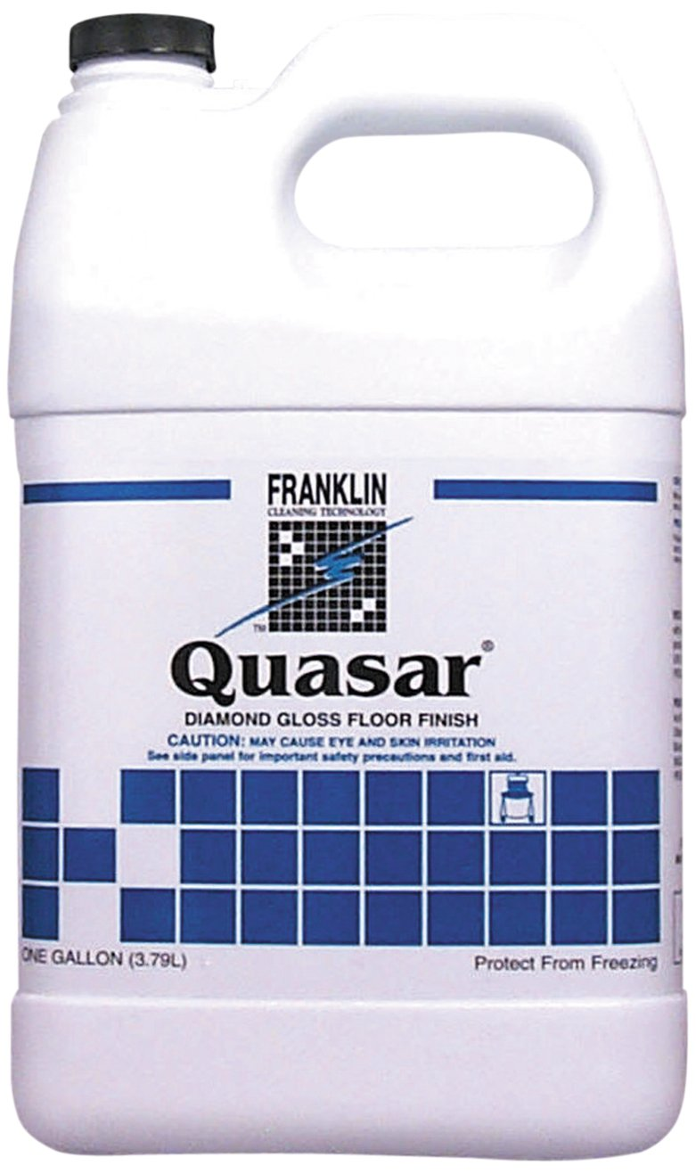 Franklin Cleaning Technology F136022 Quasar High Solids Floor Finish, Liquid, 1 Gallon Bottle (Case of 4 Gallons)
