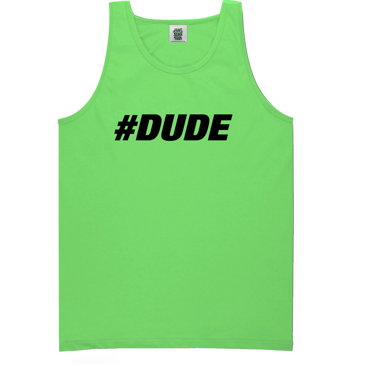 #DUDE Bright Neon Tank Top - 6 bright colors PA-NEON-546-TK