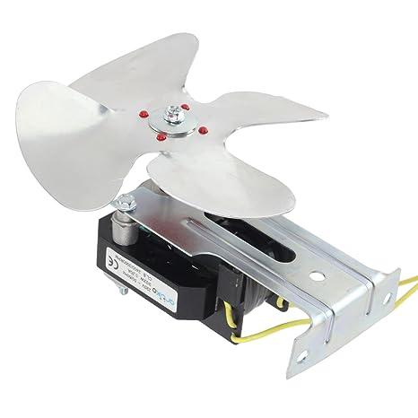 Kit universal de ventilador de refrigeración Spares2go para motor compresor de refrigerador, nevera