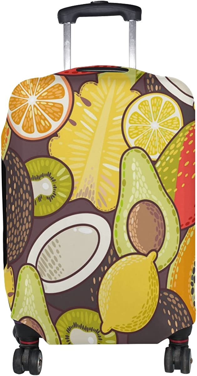 GIOVANIOR Exotic Fruits Luggage Cover Suitcase Protector Carry On Covers