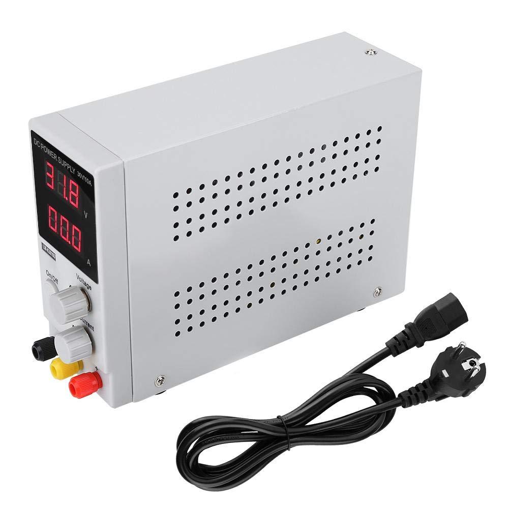 0-30V 0-10A Einstellbare Digitalanzeige Gleichstromversorgung Schaltnetzteil AC110//220V Eingang Einstellbare Gleichstromversorgung EU plug